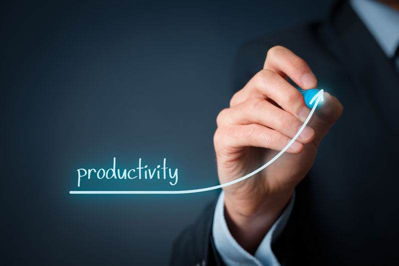 increase productivity